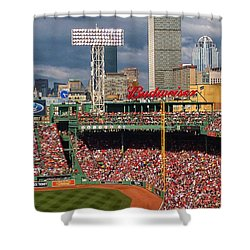 Peskys Pole At Fenway Park Shower Curtain
