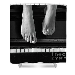 Piano #0215az Shower Curtain