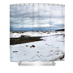 Pier Cove To The North Shower Curtain