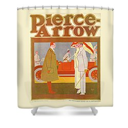 Pierce-arrow Advertisement Shower Curtain