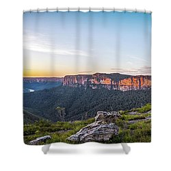 Pierces Dawn Shower Curtain