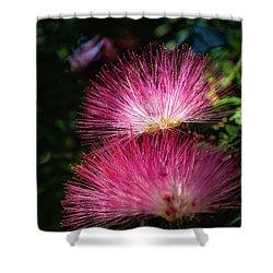 Pink Light Shower Curtain