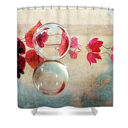 Shower Curtain featuring the photograph Pink Line by Randi Grace Nilsberg