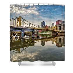 Pittsburgh River Rescue  Shower Curtain