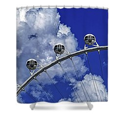 Shower Curtain featuring the photograph Pod Cluster 1 by Skip Hunt