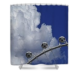 Shower Curtain featuring the photograph Pod Cluster 2 by Skip Hunt