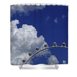 Shower Curtain featuring the photograph Pod Cluster 3 by Skip Hunt