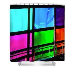 Polychrome Passageway Shower Curtain