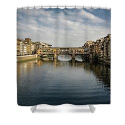 Ponte Vecchio Shower Curtain
