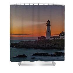 Portland Headlight Shower Curtain