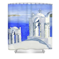 Praise The Lord Shower Curtain