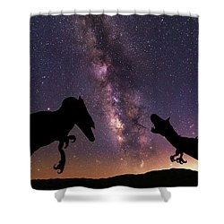 Shower Curtain featuring the photograph Pre Historic by Tassanee Angiolillo