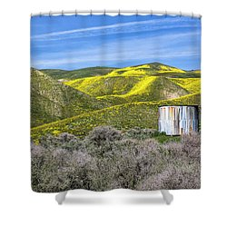 Pretty In Patina Shower Curtain