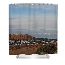 Pride Mountain Shower Curtain