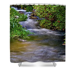 Shower Curtain featuring the photograph Provo Deer Creek by TL Mair