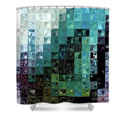 Psalm 3 3. A Shield For Me Shower Curtain