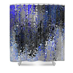 Shower Curtain featuring the painting Psalm 33 18. Hope In His Mercy by Mark Lawrence