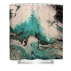 Psalm 59 16. I Will Sing Of Your Power Shower Curtain