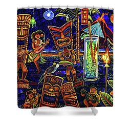 Puka Lounge Shower Curtain