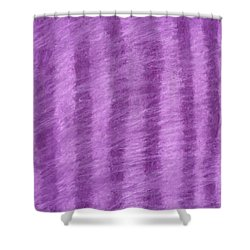 Purple Hazy Nights Shower Curtain