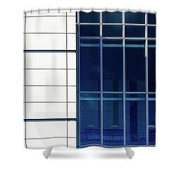 Quadrant Lines Shower Curtain