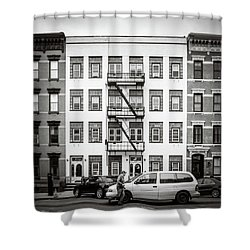 quick delivery BW Shower Curtain