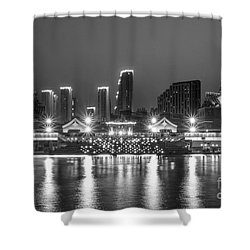 Qujingde Garden Shower Curtain