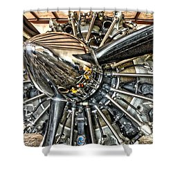 Radial Shower Curtain