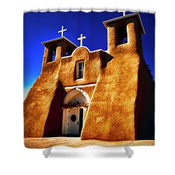 Ranchos Church  Xxxii Shower Curtain