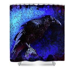 Raven Shower Curtain