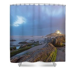 Shower Curtain featuring the photograph Ray Of Light by Bruno Rosa