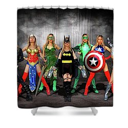 Reflections Of A Hero Shower Curtain