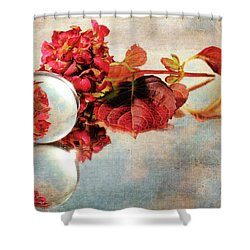 Shower Curtain featuring the photograph Reflective Mood by Randi Grace Nilsberg