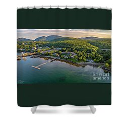 Regent Views Shower Curtain