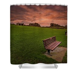 Relaxing At St Ives Cornwall Shower Curtain