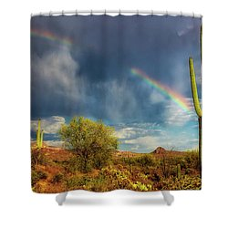 Shower Curtain featuring the photograph Respite From The Storm by Rick Furmanek