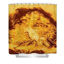 Rhapsody In Yellow Shower Curtain