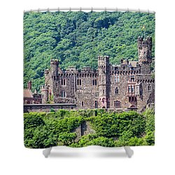 Rheinstein Castle - 2 Shower Curtain