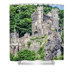 Rheinstein Castle Shower Curtain