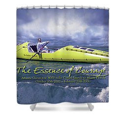 Richard Jones Row 2 Shower Curtain