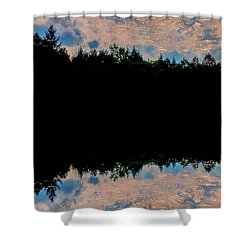 River Reflections Shower Curtain
