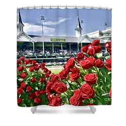 Road To The Roses Shower Curtain
