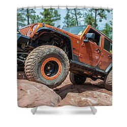 Rock Crawlin Shower Curtain