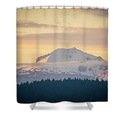 Rocky Cathedrals That Reach To The Sky Shower Curtain