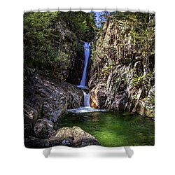 Rollalson Falls Shower Curtain