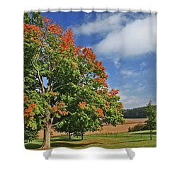 Rolling Farmland Shower Curtain