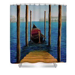 Romantic Solitude Shower Curtain