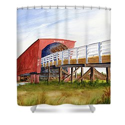 Roseman Bridge Shower Curtain