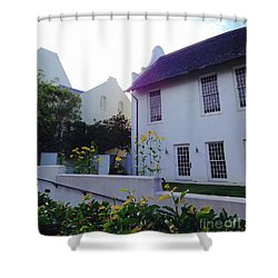 Rosemary Beach In Color Shower Curtain