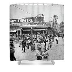 Rosemary Theater Santa Monica Shower Curtain